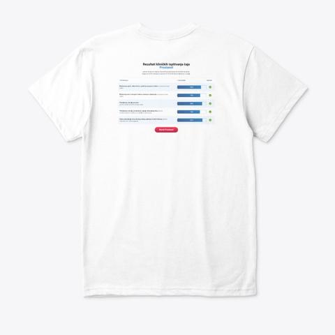 Prostanol čaj Recenzije Cijena Kupiti White T-Shirt Back