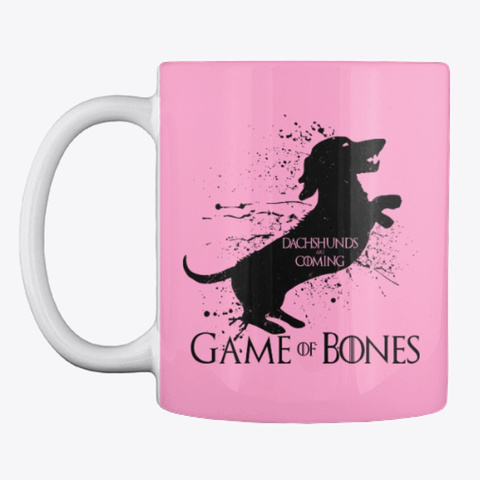 Game Of Bones Coffee Mug Pink Camo Mug Front