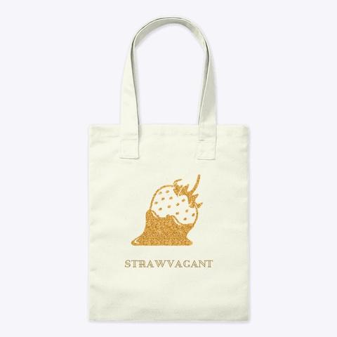 Strawvagant Natural T-Shirt Front
