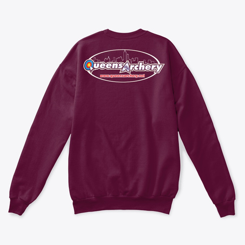Group Therapy Maroon  T-Shirt Back