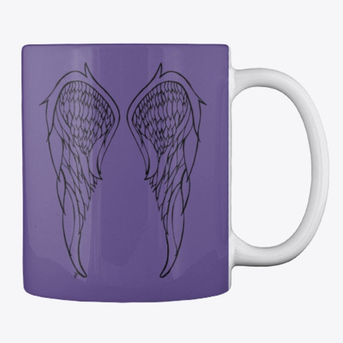 Remembering An Angel Overdose Awareness Purple T-Shirt Back