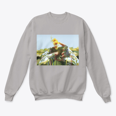 """""""Perfect Flaw""""   Sweater Light Steel  T-Shirt Front"""
