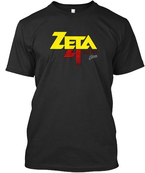 Zeta 94.9 Fm Black T-Shirt Front