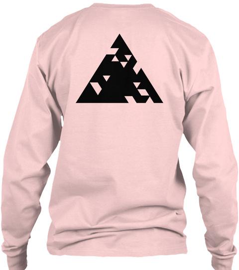 Qilla Quilla  Light Pink T-Shirt Back