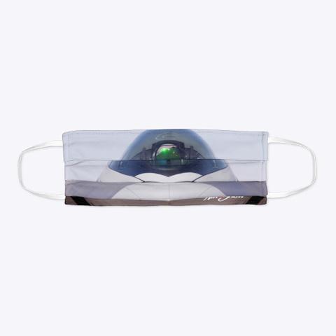 F 22 Raptor Mask Standard T-Shirt Flat