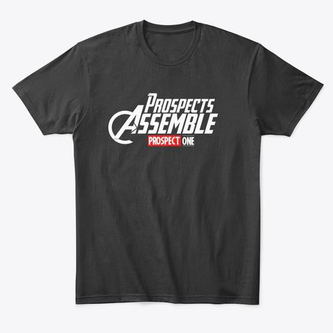 Prospects Assemble Black T-Shirt Front