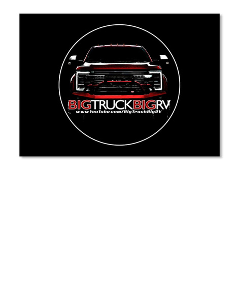 Big Truck Big RV Ford Sticker! New Logo