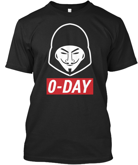 O  Day Black T-Shirt Front