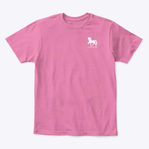 Misfit Toys Horse Rescue  True Pink  T-Shirt Front