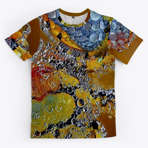 Abstract Art | Conglomeration Phazing Standard T-Shirt Front