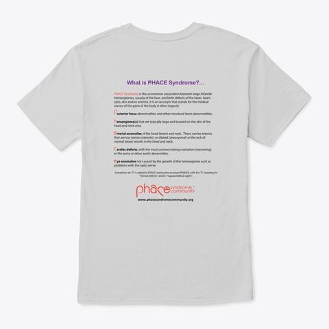 Phace Awareness 2020 Light Steel T-Shirt Back