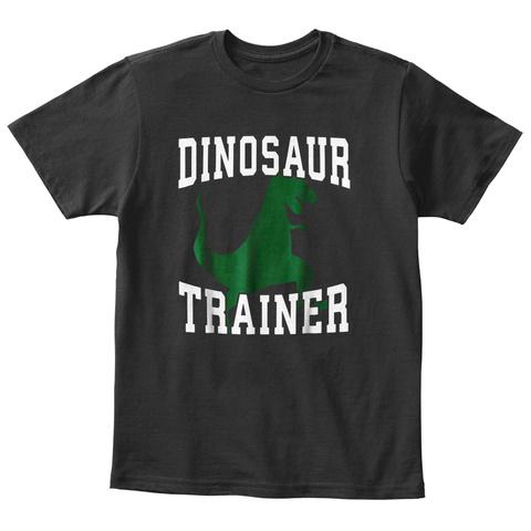 Dinosaur Trainer Black T-Shirt Front