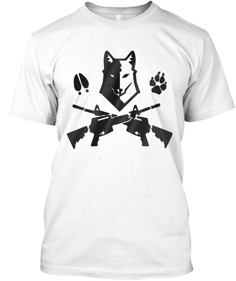 My Wolf  White T-Shirt Front