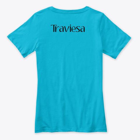 Travesiando Turquoise T-Shirt Back