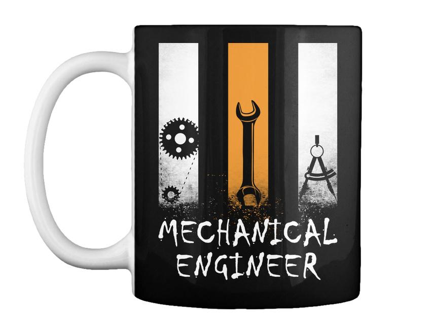 miniature 5 - Stylish Proud Mechanical Engineer - Gift Coffee Mug Gift Coffee Mug