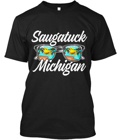 Saugatuck Shades Black T-Shirt Front