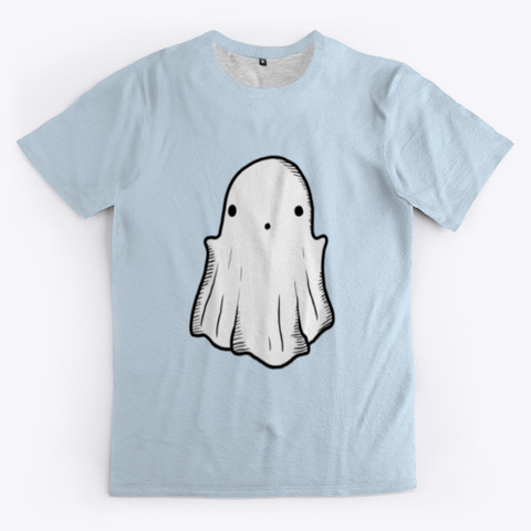 My Boo Pale Blue T-Shirt Front