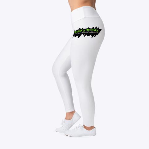 Spiel'z Girlz White Leggings Standard T-Shirt Left
