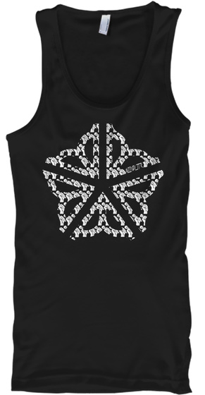 585 Music Scene Tanktop Black Tank Top Front