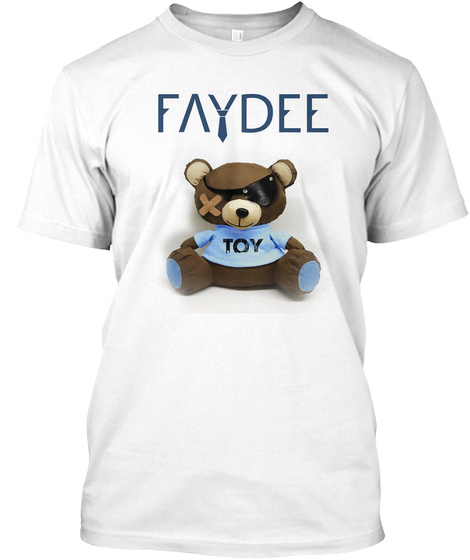 Faydee Toy White T-Shirt Front