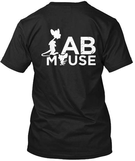 Ab Mouse Black T-Shirt Back