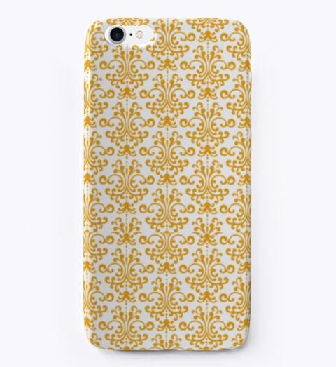 Golden Designer Phone Case Standard T-Shirt Front