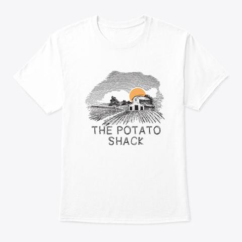 The Potato Shack White T-Shirt Front