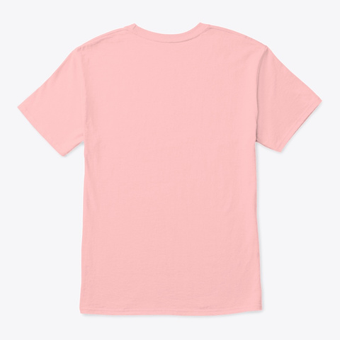 Ty's Beach Bus Palm Tree Pale Pink T-Shirt Back