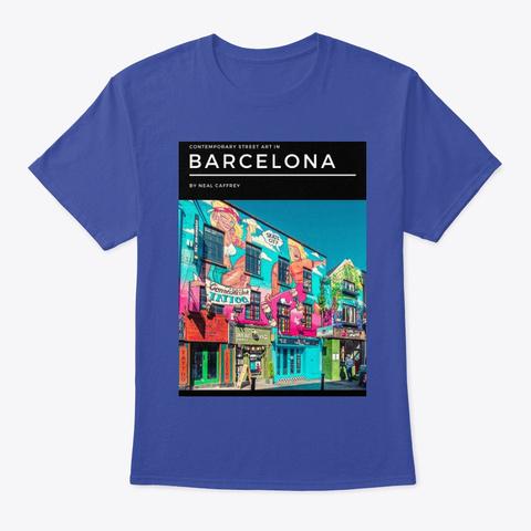 Barcelona Deep Royal T-Shirt Front
