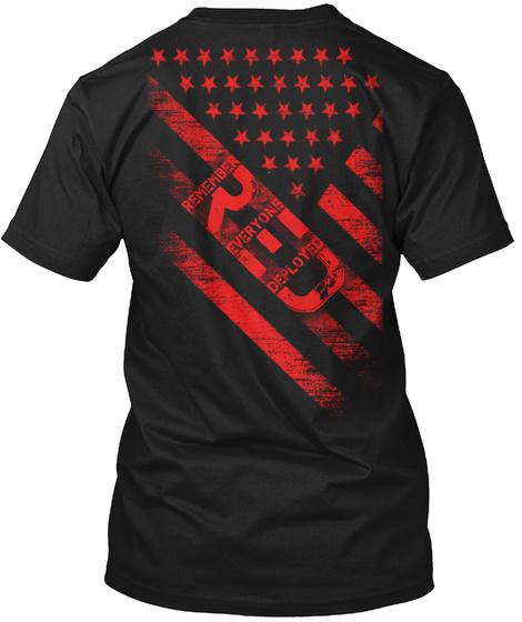 Remember Everyone Deployed T-Shirt Back