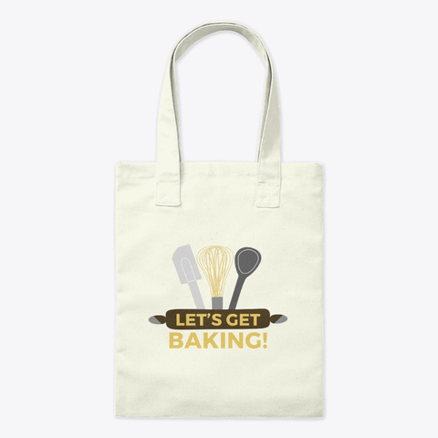 In The Kitchen With Matt Tote Natural T-Shirt Front