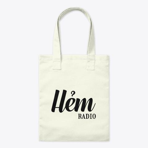 Phụ Kiện   Hẻm Radio Natural Camiseta Front