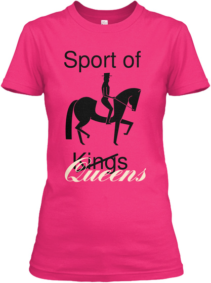 Sport Of Kings  Queens Heliconia Women's T-Shirt Front