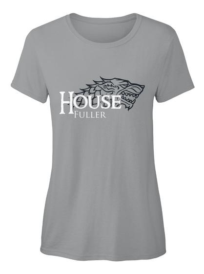 Fuller Family House   Wolf Sport Grey T-Shirt Front