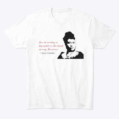Commemorate The Kū'ē #3 White T-Shirt Front