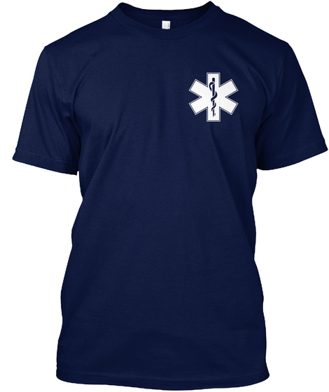 Online Sale Exclusive! Navy T-Shirt Front
