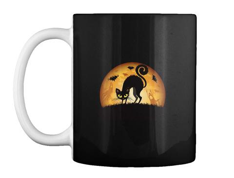 Cheap Halloween Mugs Black T-Shirt Front