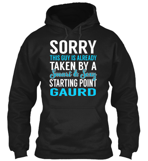 Starting Point Gaurd   Smart Sexy Black T-Shirt Front