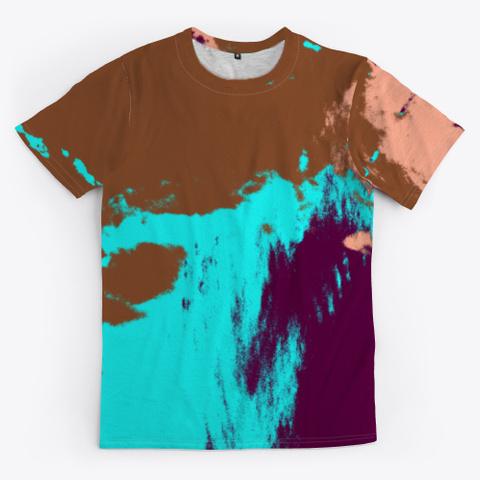 Hana   Camouflage Tie Dye Style Pattern Standard T-Shirt Front