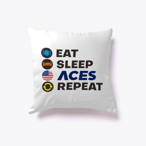 I Love Aces White T-Shirt Back