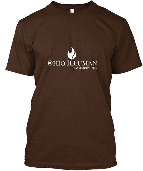 Support The Ohio Chapter Of Illuman Dark Chocolate T-Shirt Front