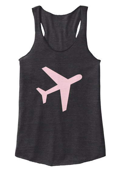 The Weekend Jetsetter Tank Eco Black Women's Tank Top Front