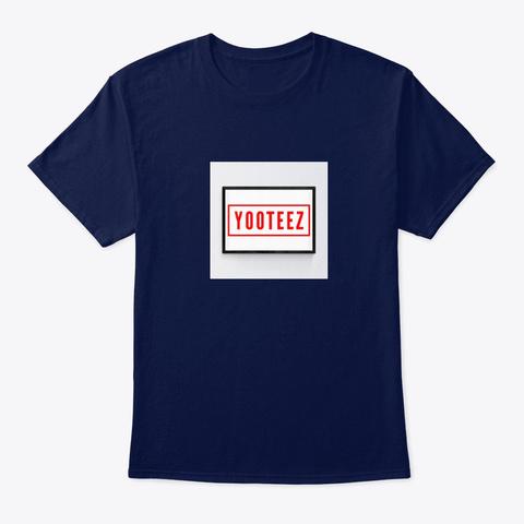 Yoo Teez Navy T-Shirt Front