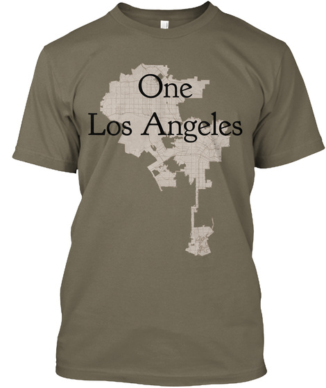 One Los Angeles Venetian Gray T-Shirt Front