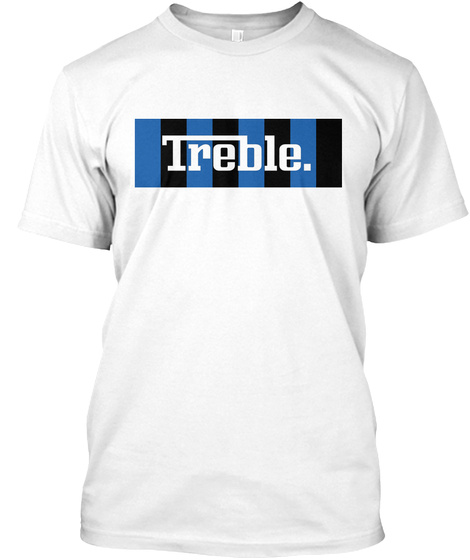 Inter Treble Tee White T-Shirt Front