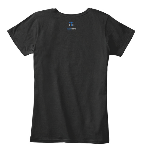 Luck (Nsa Collection) Black T-Shirt Back