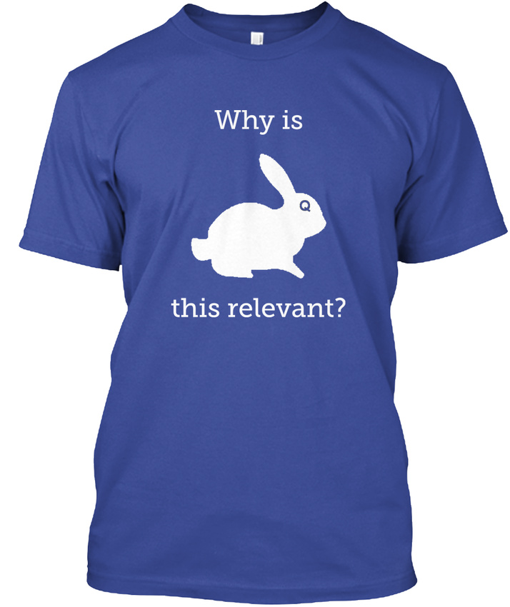 Qanon-Why-Is-This-Relevant-Relevant-Hanes-Tagless-Tee-T-Shirt thumbnail 9