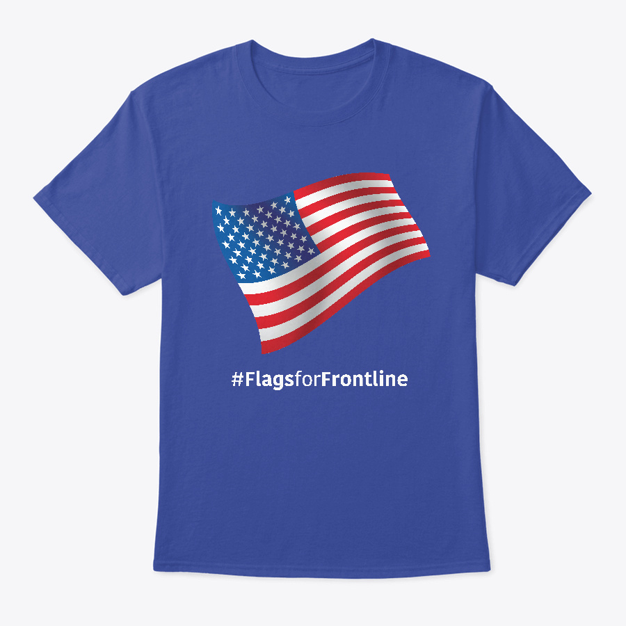 Usa Flags For Frontline Unisex Tshirt
