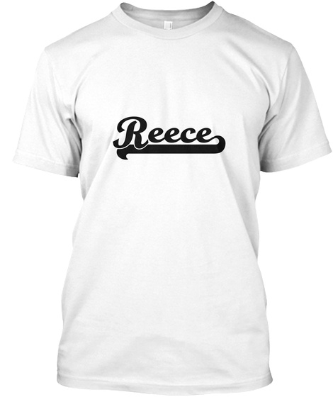 Reece White T-Shirt Front