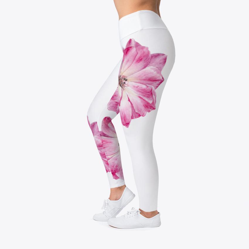 An Women's Print Fitness Stretch